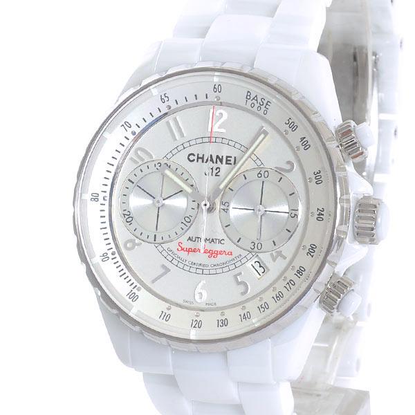 CHANEL(シャネル) J12 スーパーレッジェーラ 41mm ホワイトセラミック H3410 買取
