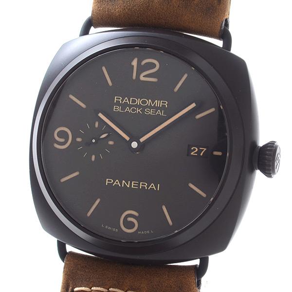 PANERAI(パネライ) ラジオミール コンポジット ブラックシール 3デイズ PAM00505 買取