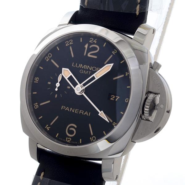 PANERAI(パネライ) ルミノール 1950 3デイズ GMT アッチャイオ PAM00531 買取