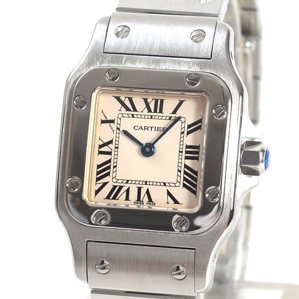 Cartier(カルティエ) サントス ガルベ SM シルバー W20056D6 買取