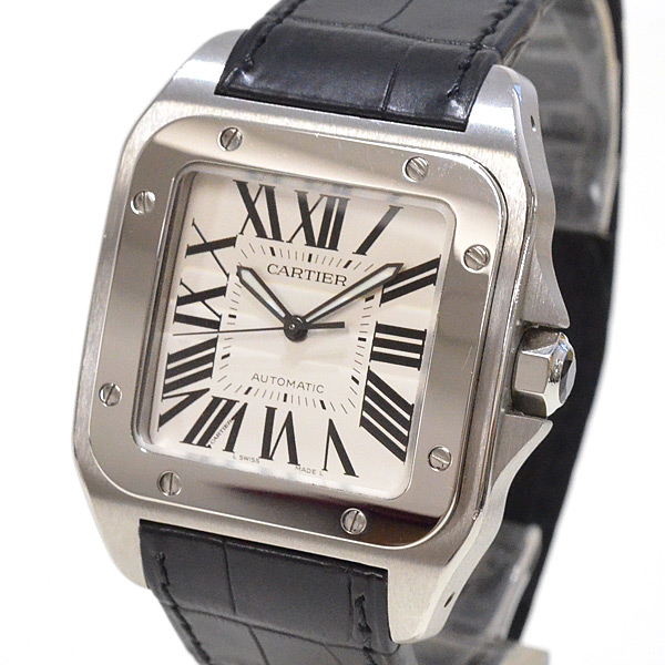 Cartier(カルティエ) サントス 100 LM シルバー W20073X8 買取