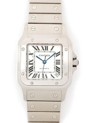 Cartier(カルティエ) サントス ガルベ XL シルバー W20098D6 買取