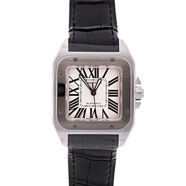 Cartier(カルティエ) サントス 100 MM シルバー SS/革 W20106X8 買取