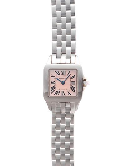 Cartier(カルティエ) サントス ドゥモワゼル SM ピンクMOP SS W25075Z5 買取