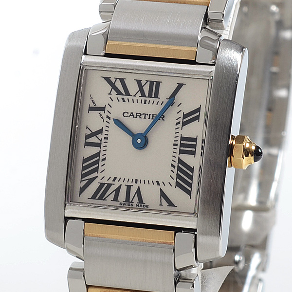 Cartier(カルティエ) タンク フランセーズ SM シルバー SS/YG W51007Q4 買取