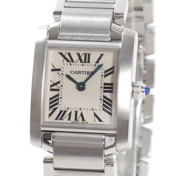 Cartier(カルティエ) タンク フランセーズ SM シルバー W51008Q3 買取