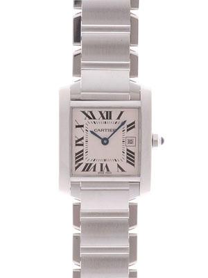 Cartier(カルティエ) タンク フランセーズ MM シルバー W51011Q3 買取