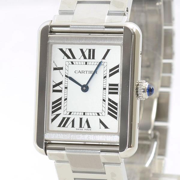 Cartier(カルティエ) タンク ソロ SM シルバー W5200013 買取