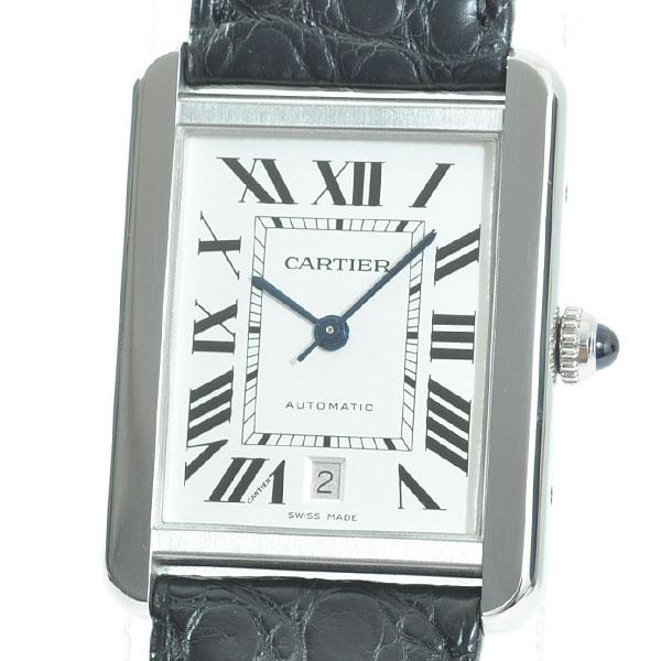 Cartier(カルティエ) タンク ソロ XL シルバー W5200027 買取