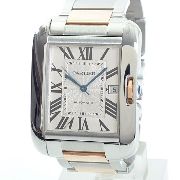 Cartier(カルティエ) タンク アングレーズ LM シルバー SS/PG  W5310006 買取