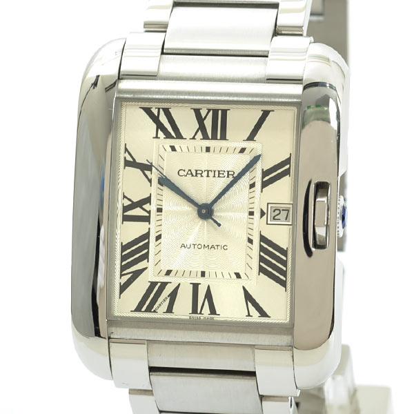 Cartier(カルティエ) タンク アングレーズ LM シルバー W5310008 買取