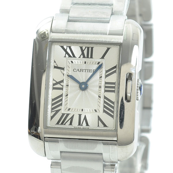 Cartier(カルティエ) タンク アングレーズ SM シルバー W5310022 買取