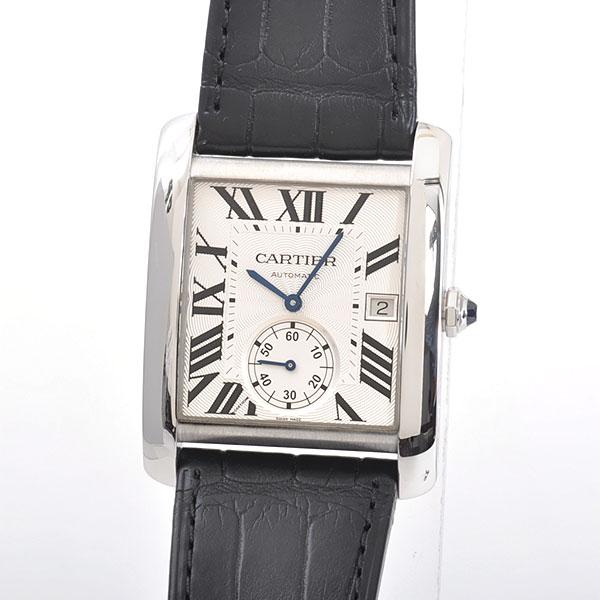 Cartier(カルティエ) タンク MC シルバー SS/革 W5330003 買取
