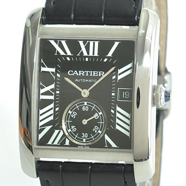 Cartier(カルティエ) タンク MC ブラック SS/革 W5330004 買取