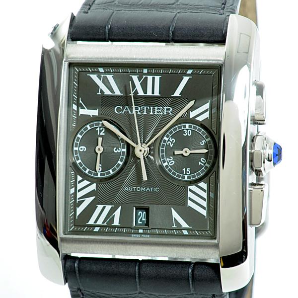 Cartier(カルティエ) タンク MC クロノグラフ グレー SS/革 W5330008 買取