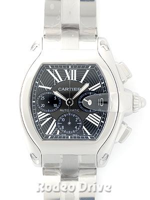 Cartier(カルティエ) ロードスター クロノグラフ ブラック SS W62020X6 買取