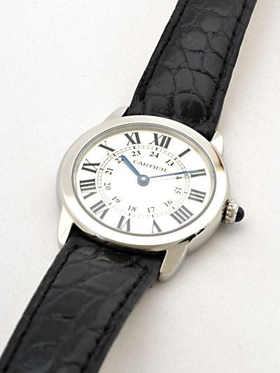 Cartier(カルティエ) ロンドソロ SM シルバー W6700155 買取