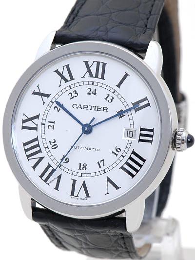 Cartier(カルティエ) ロンドソロ XL シルバー SS/革 W6701010 買取