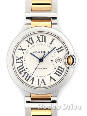 Cartier(カルティエ) バロンブルー LM シルバー SS/YG W69009Z3 買取