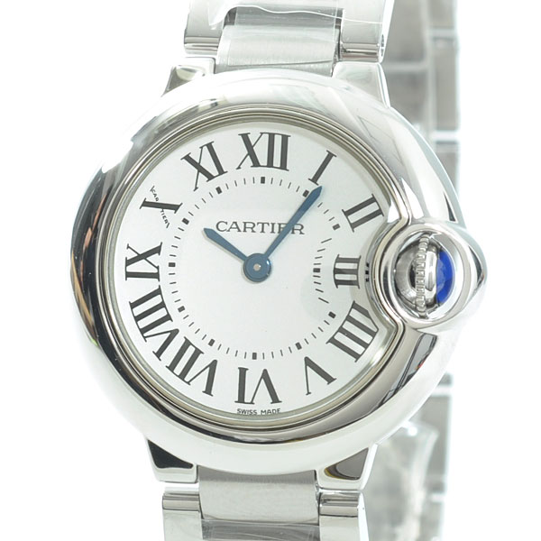 Cartier(カルティエ) バロンブルー SM シルバー W69010Z4 買取