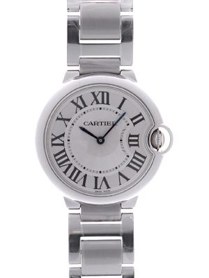 Cartier(カルティエ) バロンブルー MM クォーツ シルバー W69011Z4 買取