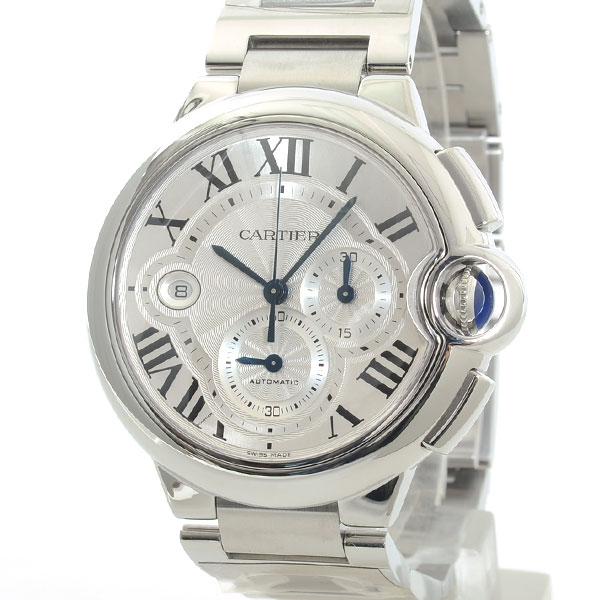 Cartier(カルティエ) バロンブルー クロノグラフ シルバー W6920002 買取