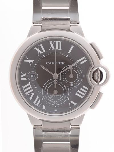 Cartier(カルティエ) バロンブルー クロノグラフ ブラック W6920025 買取