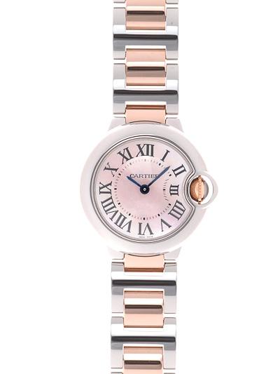 Cartier(カルティエ) バロンブルー SM ピンクMOP SS/PG W6920034 買取