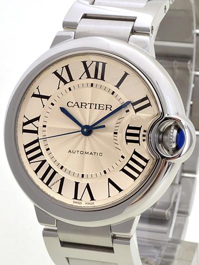 Cartier(カルティエ) バロンブルー MM シルバー W6920046 買取