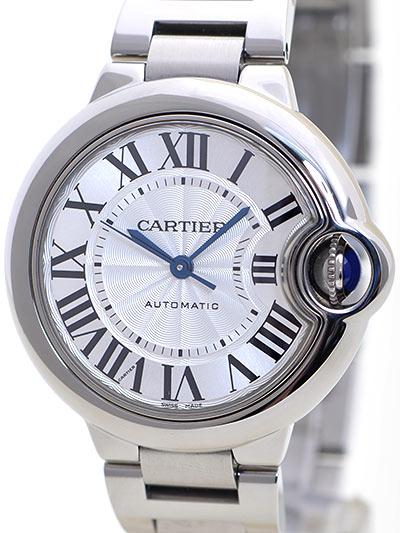 Cartier(カルティエ) バロンブルー 33mm シルバー W6920071 買取