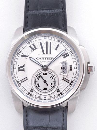 Cartier(カルティエ) カリブル ドゥ カルティエ シルバー SS/革 W7100037 買取