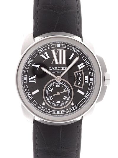Cartier(カルティエ) カリブル ドゥ カルティエ ブラック SS/革 W7100041 買取