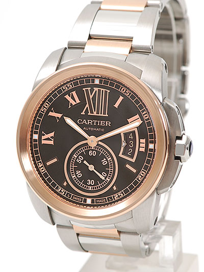 Cartier(カルティエ) カリブル ドゥ カルティエ ブラウン SS/PG W7100050 買取