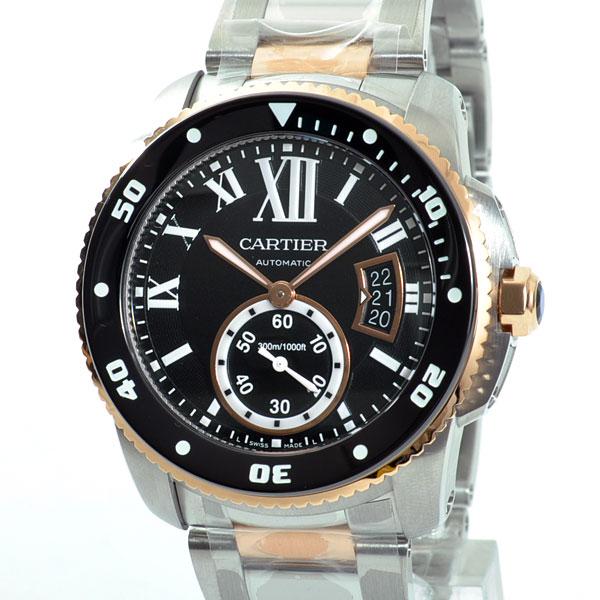 Cartier(カルティエ) カリブル ドゥ カルティエ ダイバー ブラック W7100054 買取