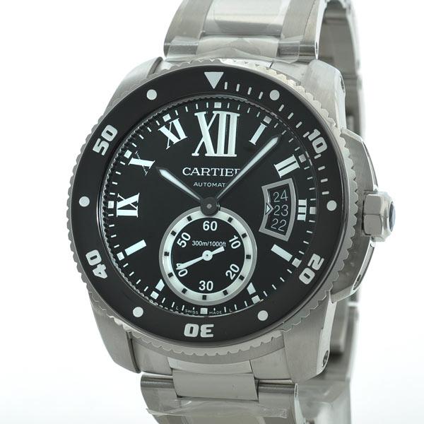 Cartier(カルティエ) カリブル ドゥ カルティエ ダイバー ブラック SS W7100057 買取