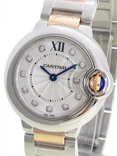 Cartier(カルティエ) バロンブルー SM 11Pダイヤ シルバー11Pダイヤ WE902030 買取