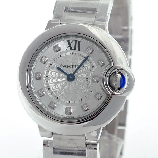 Cartier(カルティエ) バロンブルー SM 11Pダイヤ シルバー11Pダイヤ SS WE902073 買取