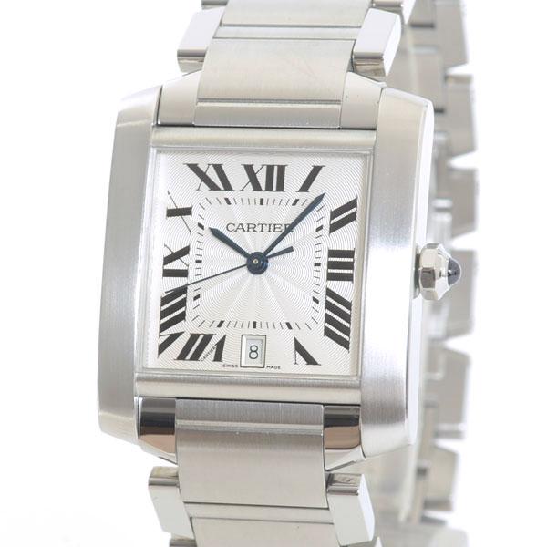 Cartier(カルティエ) タンク フランセーズ LM シルバー W51002Q3 買取