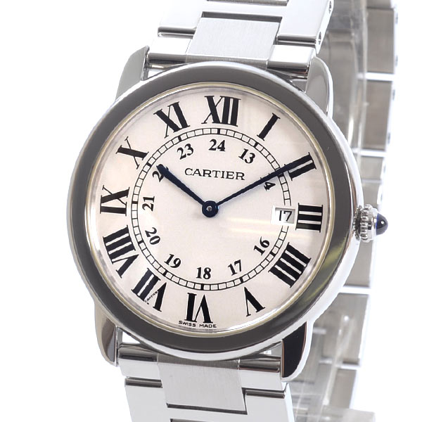 Cartier(カルティエ) ロンドソロ LM シルバー W6701005 買取