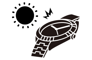 【時計】文字盤の日焼け