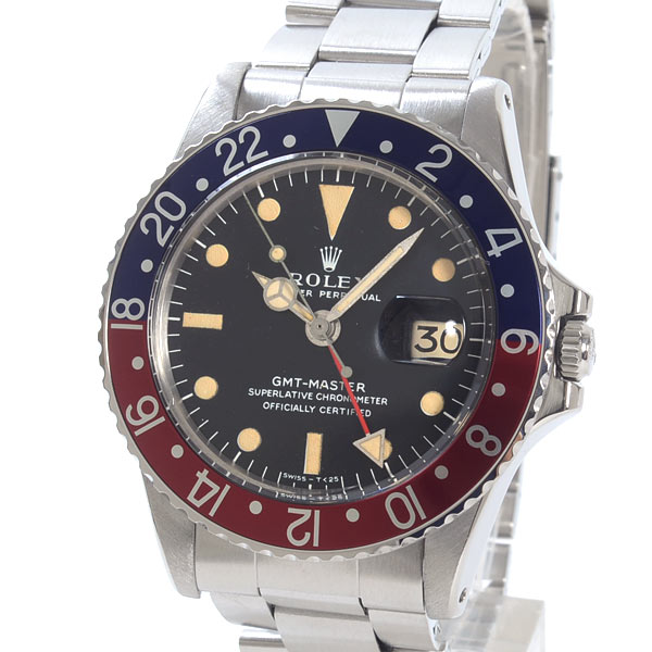 GMTマスター 1675BL/RD