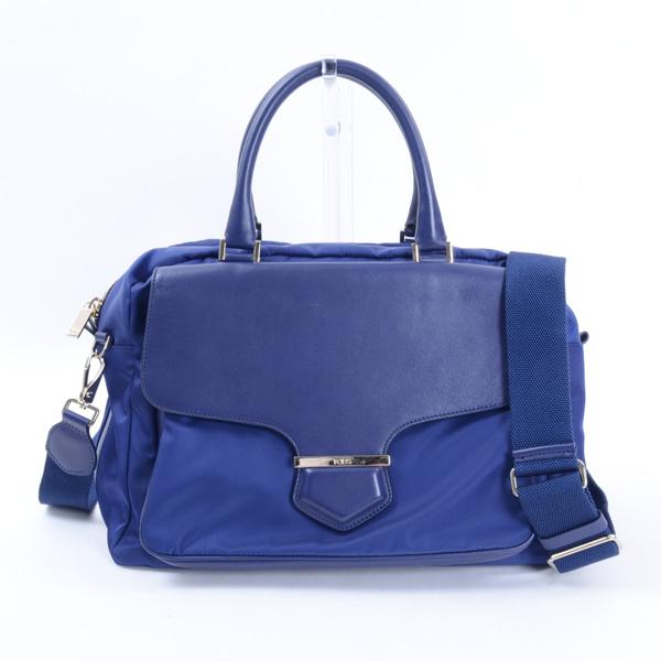 2WAYハンドバッグ ブルー