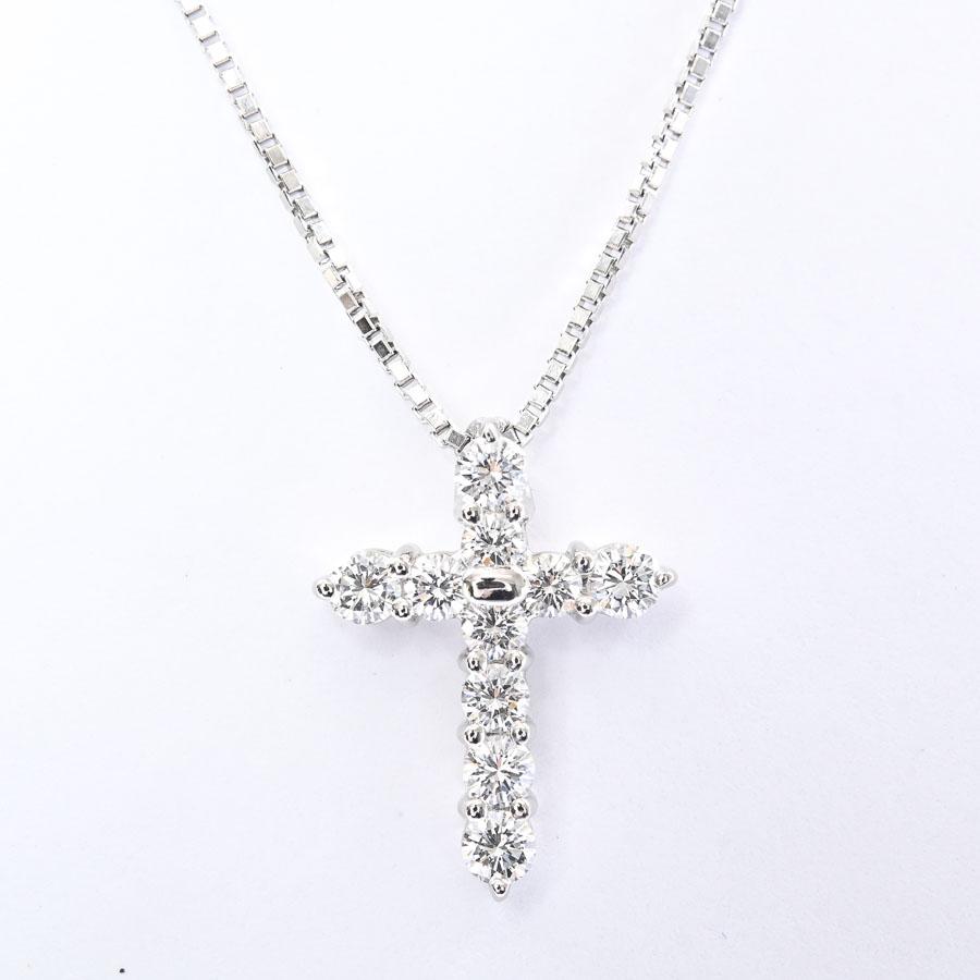 ダイヤ ネックレス プラチナ900/850