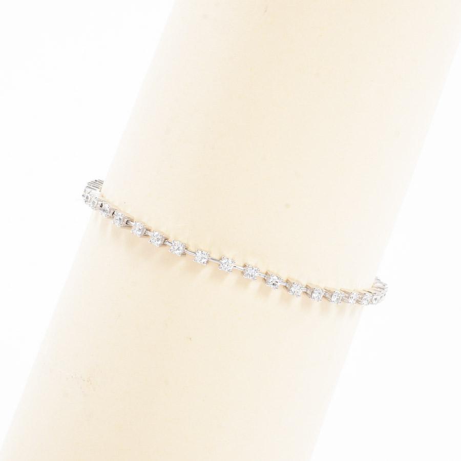 ダイヤ ブレスレット K18WG